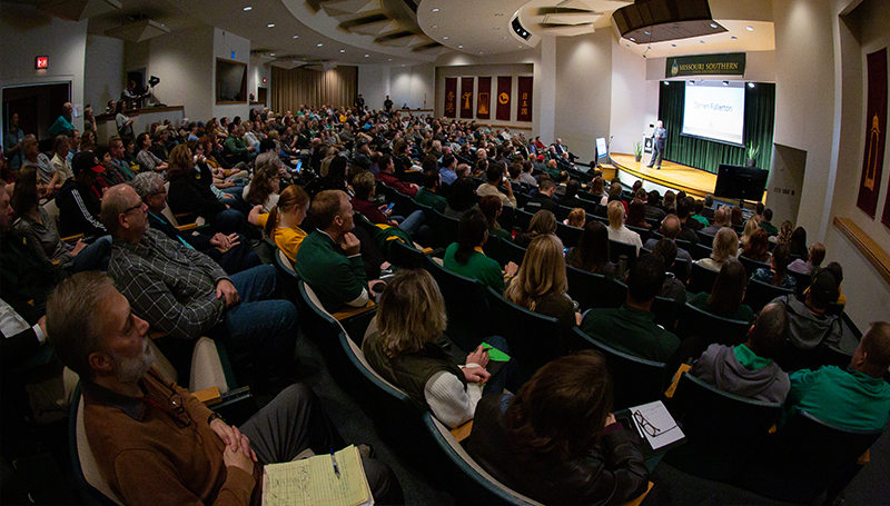 Welcome Back meeting kicks off the Spring 2020 semester