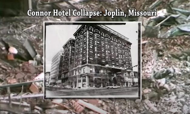 Video captures aftermath of Connor Hotel collapse