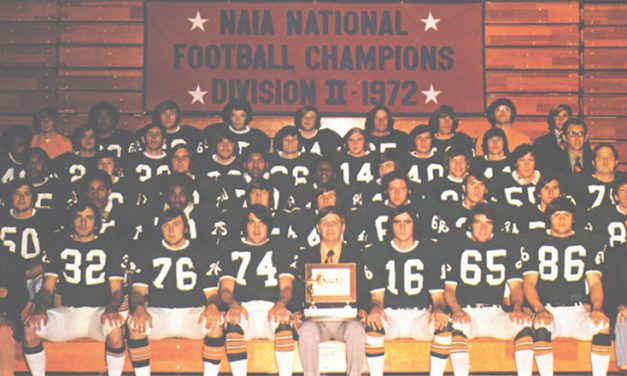 1972 MSSU Football Team To Go Into Missouri Sports Hall of Fame