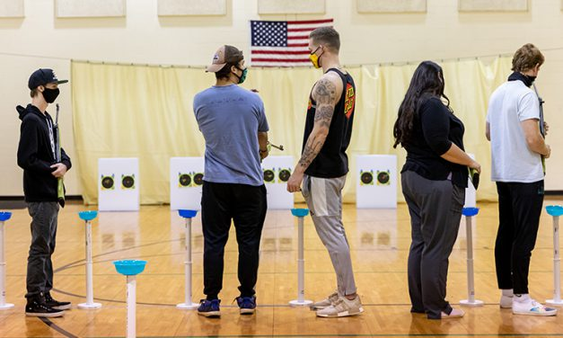 Right on Target: New Archery & Air Rifle Course Teaches Students the Basics of the Sports