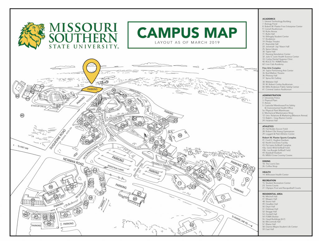 MSSU COVID 19 testing location - Oct 16