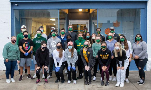 MSSU SAAC Wraps Up Trick Or Treat So Others Can Eat Campaign