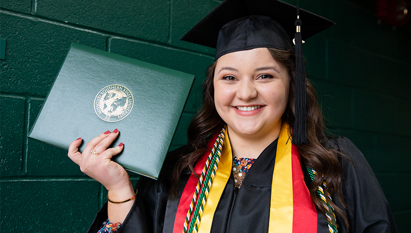 Karsyn Ballay, '20, discovers passion for logistics at MSSU