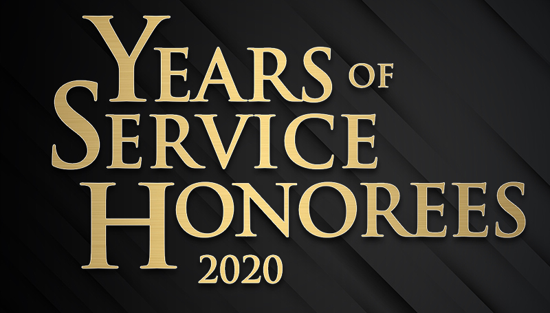 Employee Appreciation & Years of Service ceremony set for Dec. 23