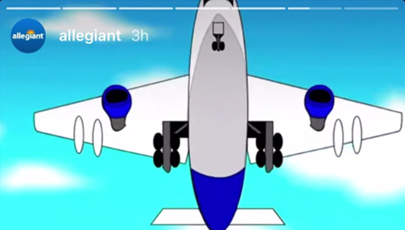 Flying high  |   Allegiant Airlines showcases animations created by Missouri Southern students