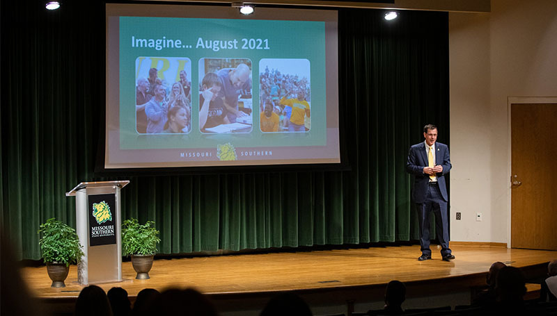 Welcome Back meeting highlights successes, challenges facing MSSU