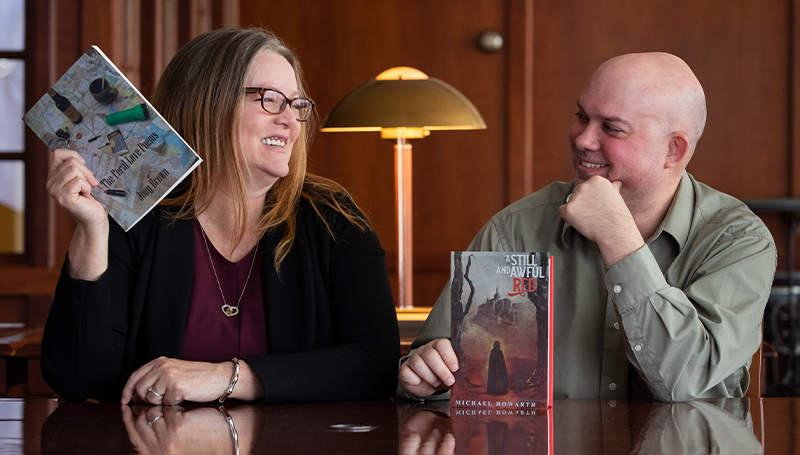 Bound Together: Dr. Michael Howarth, Dr. Joey Brown Celebrate Seventh Wedding Anniversary, Book Releases