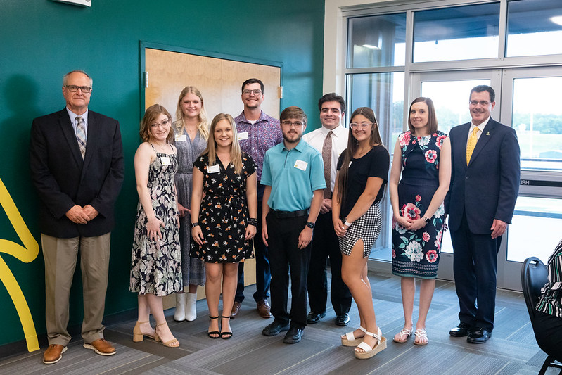 Local seniors receive Golden Lion Award scholarships